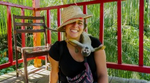 Paz Mercadal monkey